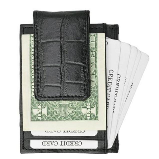 Genuine Leather Money Clip