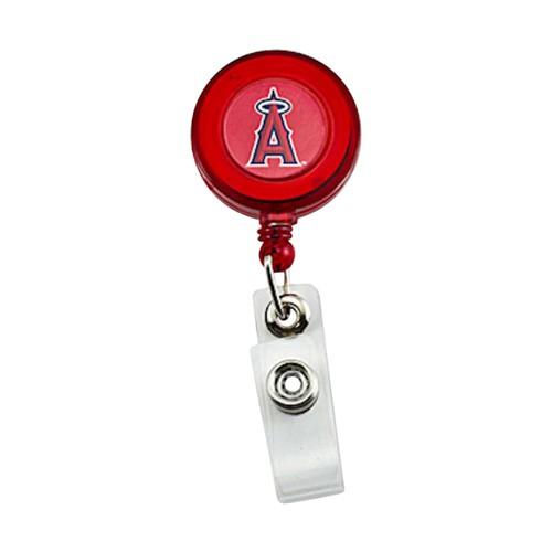 LOS Angeles Angels Retractable Badge Reel Id Ticket Clip MLB