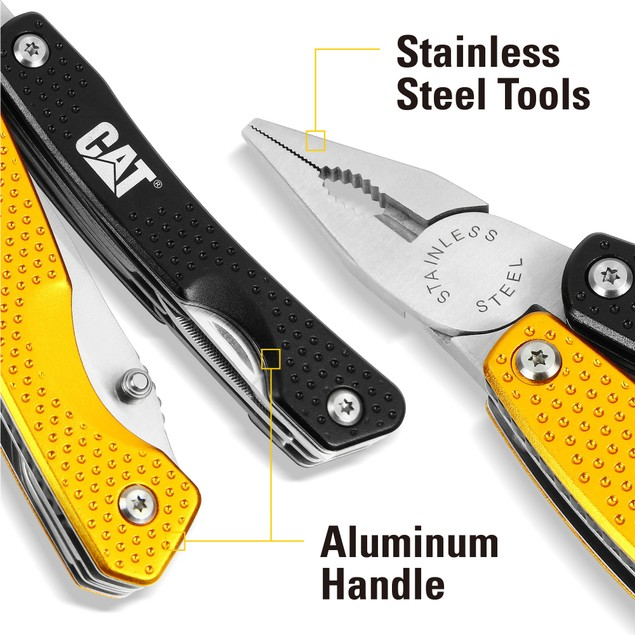 CAT 11-in-1 Stainless Steel Multi-Tool