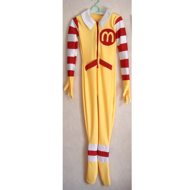 Ronald Yellow Adult Costume