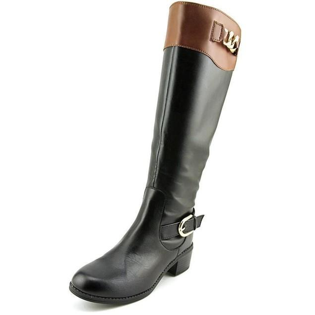 Karen Scott Darlaa Women US Black Knee High Boot SZ: 6M