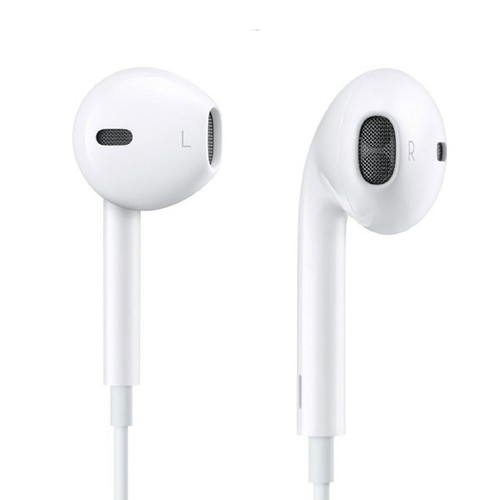 iPhone In-Ear Pods with Remote and Microphone - 1 Pack (Refurbished)