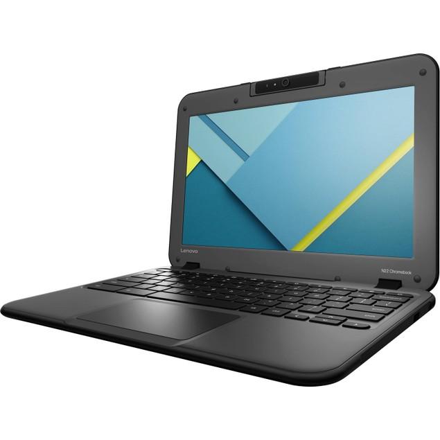 Lenovo Chromebook 80VH0001US Intel Celeron N3060,Black (Refurbished)