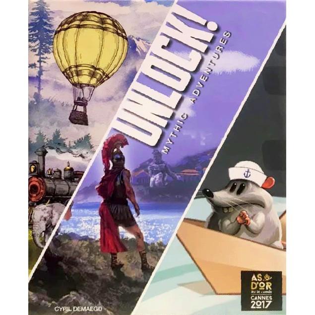 Unlock 8! Mythic Adventures Board Game