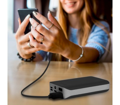Aduro PowerUp 10,000mAh with SmartCharge and Dual-USB Ports Was: $39.99 Now: $14.99.