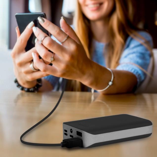 Aduro PowerUp 10,000mAh with SmartCharge & Dual-USB Ports