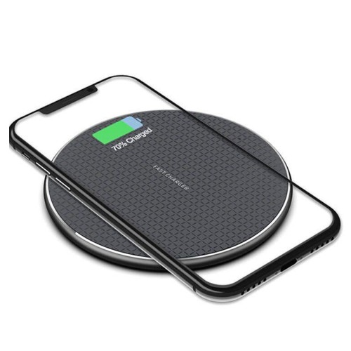 Wireless Charger 10W Fast Charging Pad Widely Compatible with Most Phones