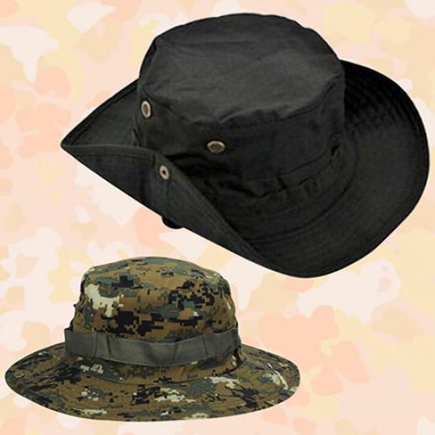 Woodland Fishing Hiking Travel Sun-proof Boonie Hat