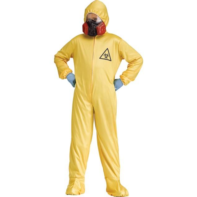 Hazmat Suit & Mask Child Costume