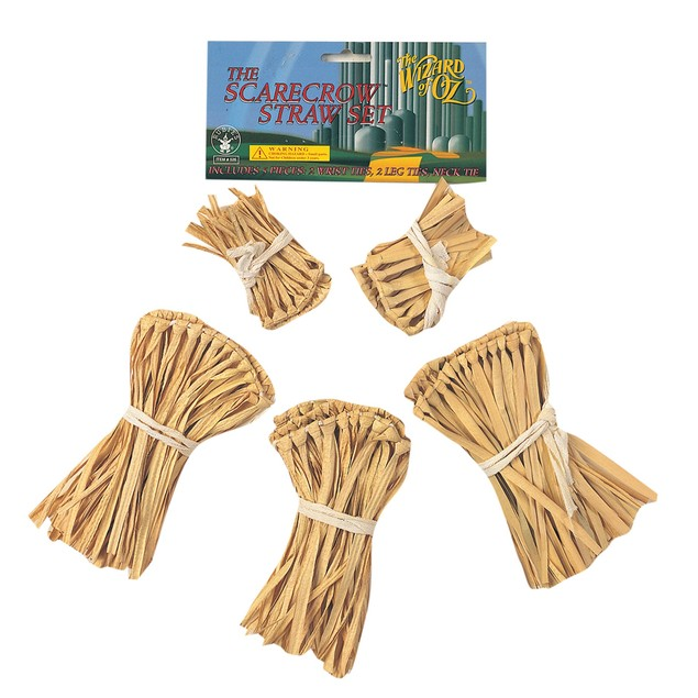 Scarecrow Straw Set The Wizard Of Oz Kit Costume Accessory Halloween