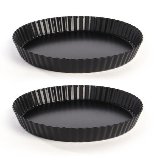 Non-Stick Quiche Tart Tin - Set of 2 | MandW