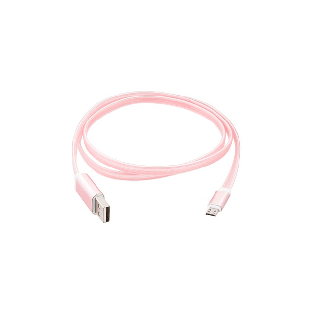 3.5ft Flat design light Flow Charging Cable for Apple Devices - Tangle Free