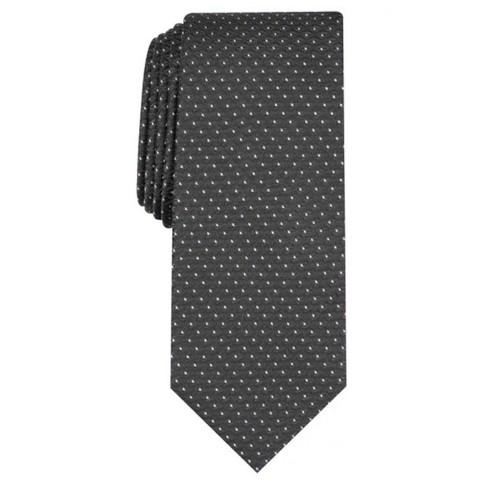 Alfani Men's Slim Geometric Tie Black