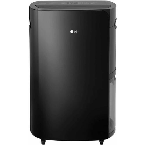 LG PuriCare 50-Pint ENERGY STAR Portable Dehumidifier - Black
