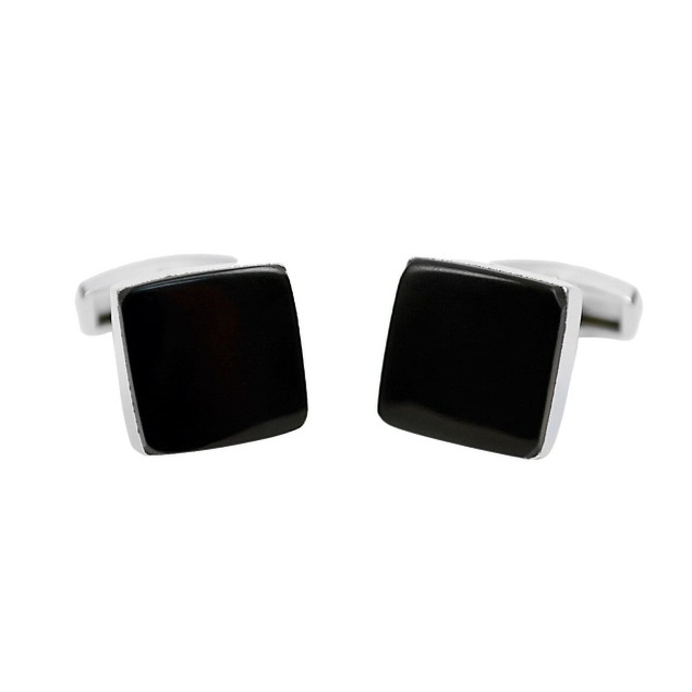 Black Square Premium Cufflinks