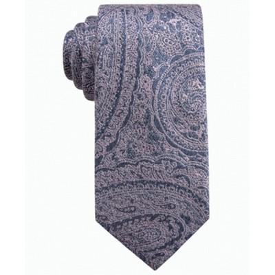 Ryan Seacrest Distinction Men's Atwood Paisley Slim Tie Pink Size Regular