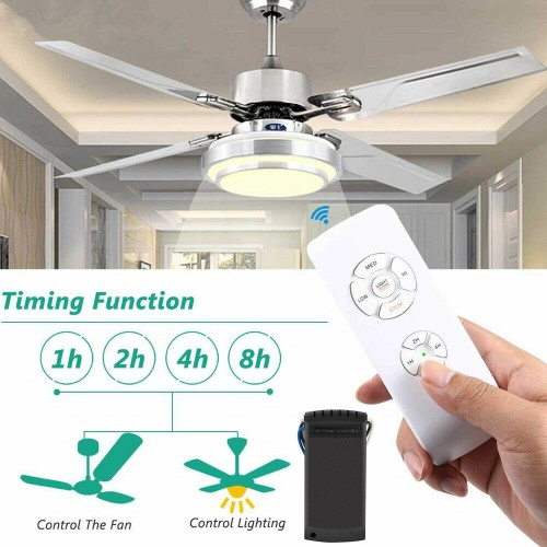 Wireless 15M Timing Remote Control Receiver Universal Ceiling Fan Lamp