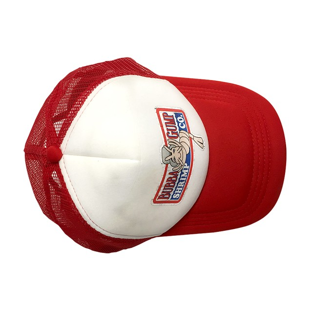 Bubba Gump Shrimp Co. White And Red Trucker Hat