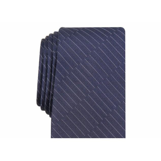 Alfani Men's Maximus Solid Tie Blue Size Regular