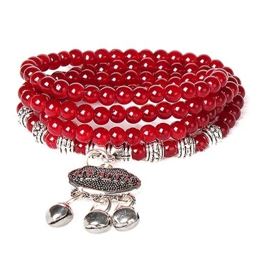 Agate Beaded Good Luck Fashion Bracelet