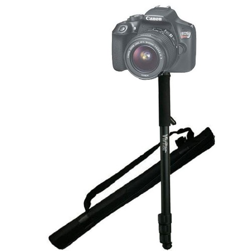 "62"" Vivitar Monopod With Case for Canon Rebel Digital SLR Camera Models"
