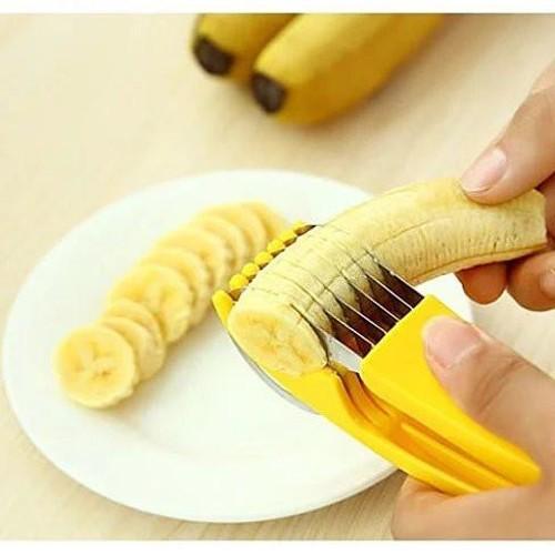 Go Bananas Over The Bite Size Banana Slicer