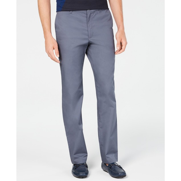 Alfani Men's AlfaTech Classic-Fit Chino Pants Infinity Blue Size 34x32