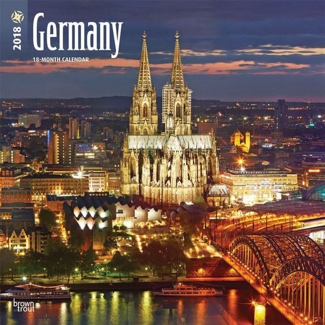 Germany Deutschland Wall Calendar, Germany by Calendars