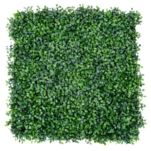 Costway 12 Artificial Hedge Plant Privacy Fence Screen Topiary Decorative W