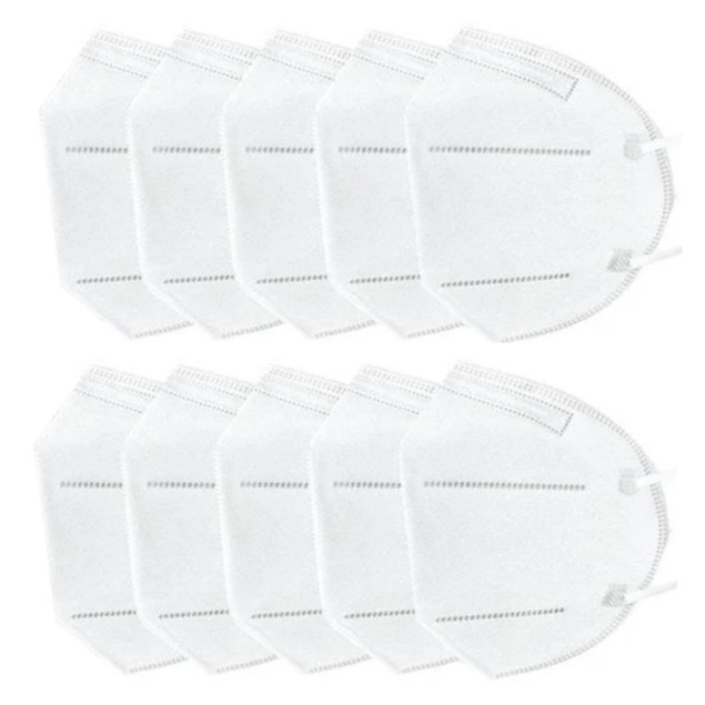 50-Pack: Disposable KN95 4-Layer Breathable Face Masks