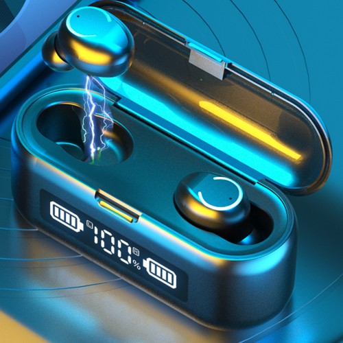 Bluetooth Wireless Waterproof Headphones & Charging Case