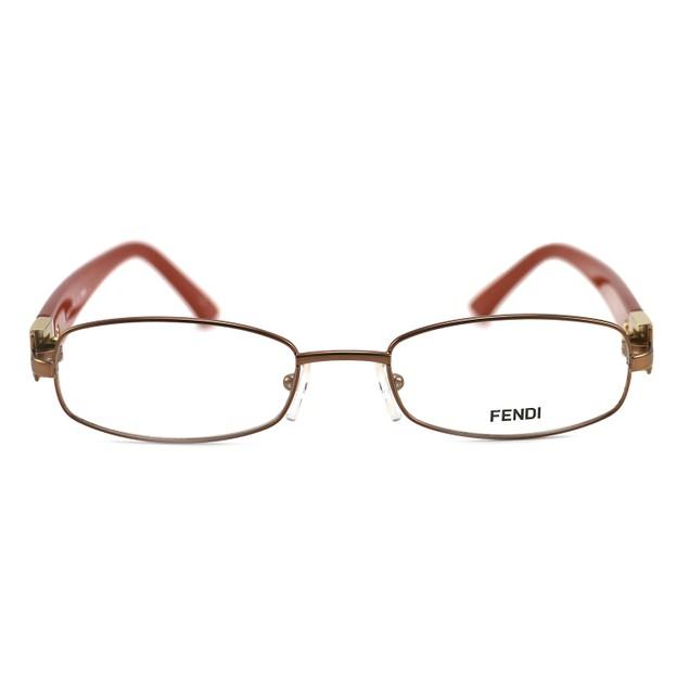 Fendi Women's Eyeglasses F905 688 Bronze 52 19 130 Full Rim Oval