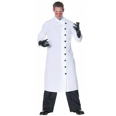 Evil Scientist Lab Coat Adult Costume