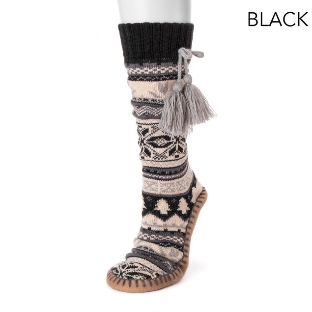 MUK LUKS ® Women's Slipper Socks with Tassels