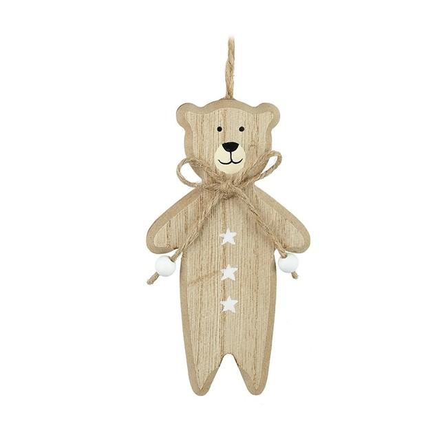 Wooden Bear Hanger