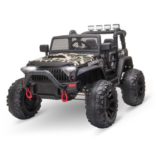 Children Battery Powered Riding UTV Truck w/ Bluetooth Music & 2 Motors