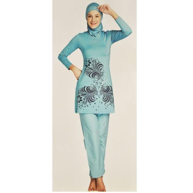 Muslim Swimwear swimsuit for islamic women with hijab#170312W02
