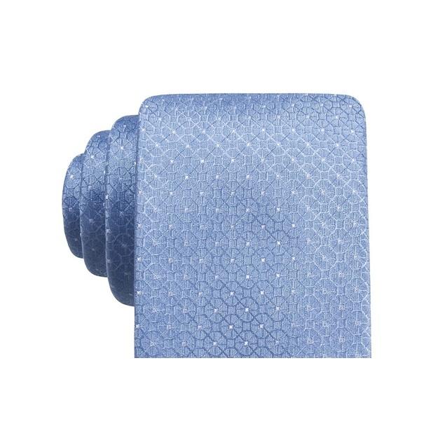 Ryan Seacrest Distinction Men's Gaffney Slim Geo TieBlue Size Regular