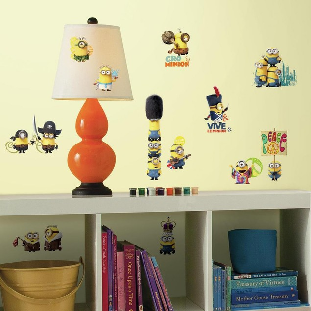 Roommates Nursery Baby Room Wall Decorative Minions The Movie Wall Decals