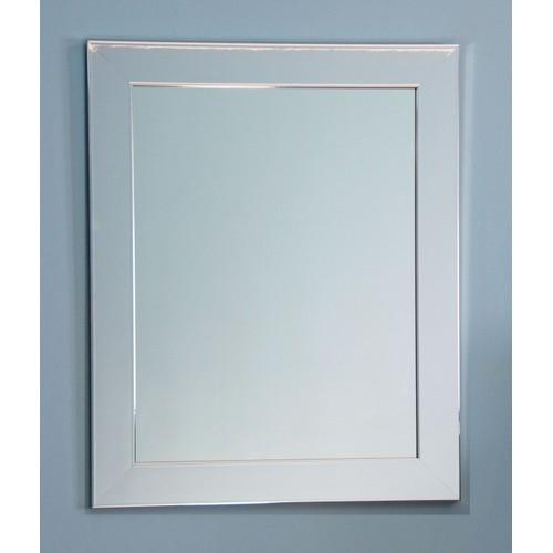"BrandtWorks Perfect Durable Chrome Wall Mirror - 27"" x 32"""
