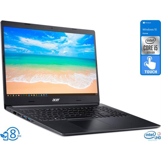 "Acer Aspire 5, 15"" Touch, i5-1035G1, 8GB RAM, 256GB SSD, Windows 10 H"