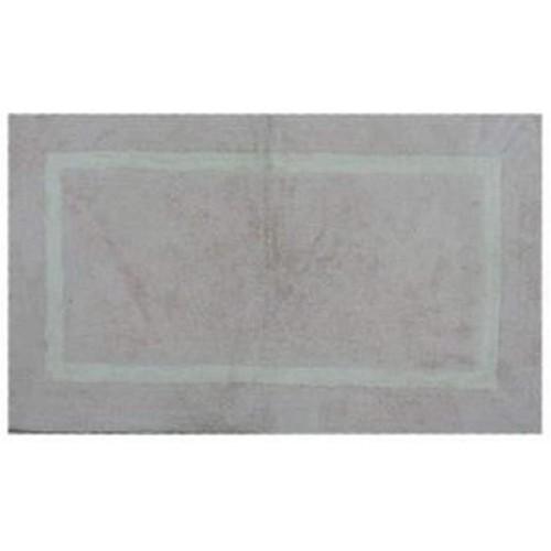 Spura Home Oriental Handmade Solid Pink Bath Mat W/White Border Plesh 28x48