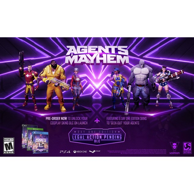 Agents Of Mayhem Customize & Upgrade Your Agents Skills, Xbox One