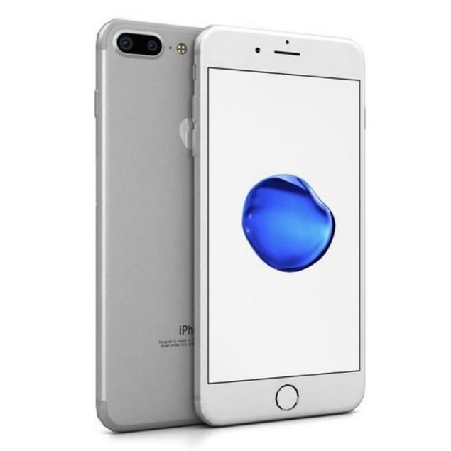 Apple iPhone 7 Plus, AT&T, Grade B+, Silver, 32 GB, 5.5 in Screen