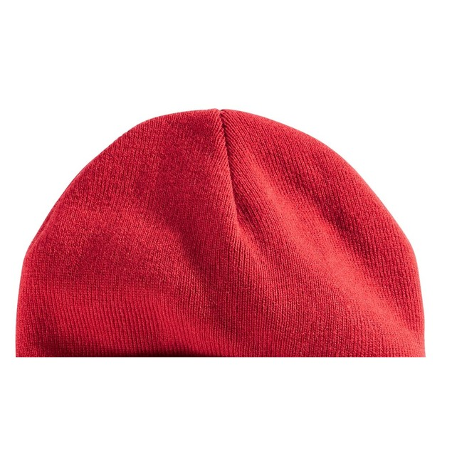 Levi's Men's Cuff Beanie With Tonal Embroidery Red Size Regular