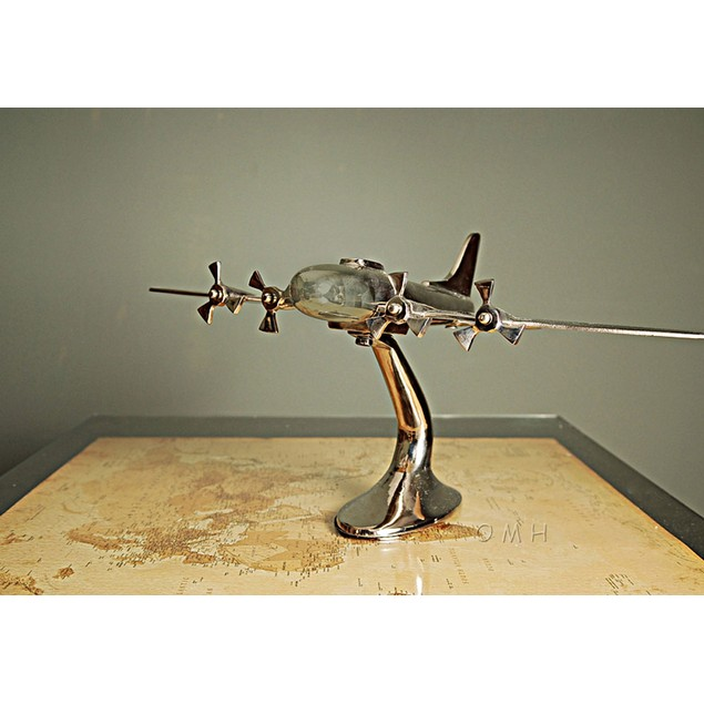 Old Modern Handicrafts Aluminium Aeroplane Model