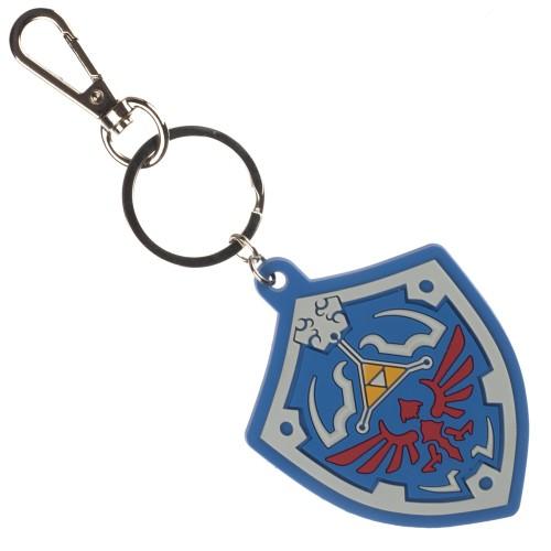 Zelda Triforce Nintendo Rubber Key Chain