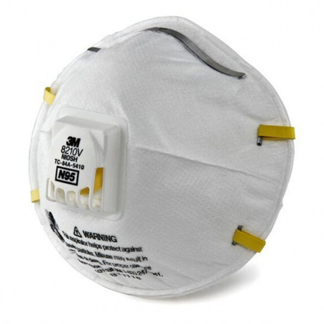 10 Pack: 3M N95 Particulate Respirator Mask with Cool Flow Valve 8210V