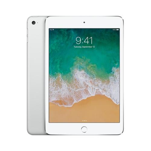 Apple iPad Mini 4, MK9H2LL/A, A8/64GB, Silver/White (Refurbished)