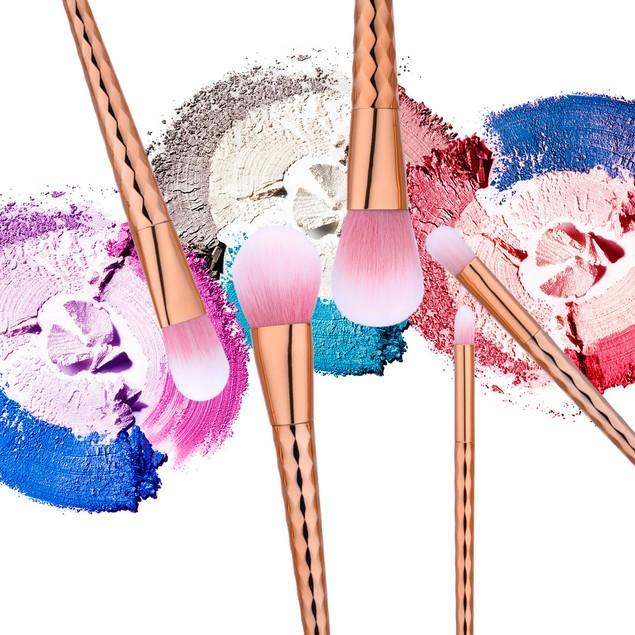 5Pcs Blending Pencil Foundation Makeup Brushes Eyeliner Brush 177